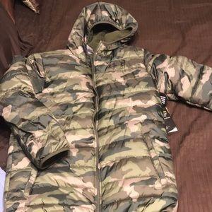 Under Armour Camo reversible repellent ski jacket